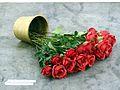 Fallen roses - Artissima 2012 (8187927190).jpg