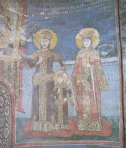 File:Family of Serbian Emperor Stefan Dušan, Dečani.jpg