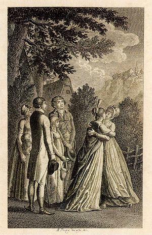 Sophie von La Roche - Frontispiece of Fanny und Julia