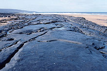 Fanore, the beach after winter storms. - geograph.org.uk - 65566.jpg
