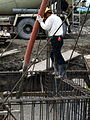 Farmhouse construction at Shoufeng countryside - Grouting.jpg