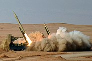 Fateh-110 missiles and launchers