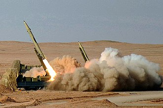 Armed Forces of the Islamic Republic of Iran - Fateh-110 is a type of short range missile.