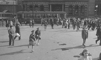 Place d'Armes - Place d'Armes in 1941