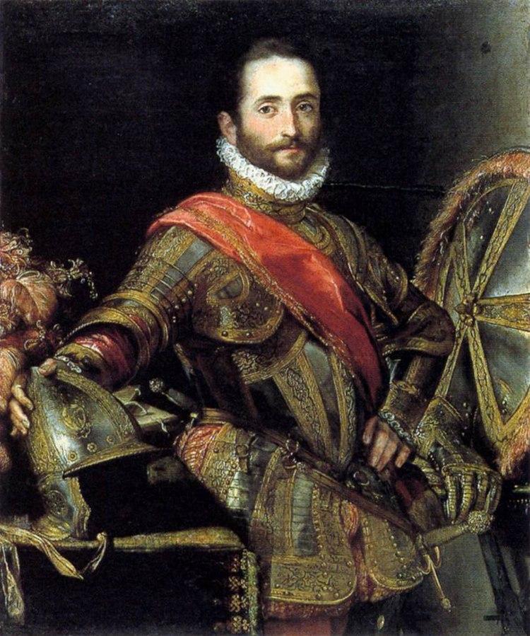Portrait de Francesco Maria II della Rovere