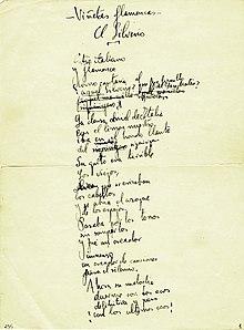 Poema Del Cante Jondo Wikipedia La Enciclopedia Libre
