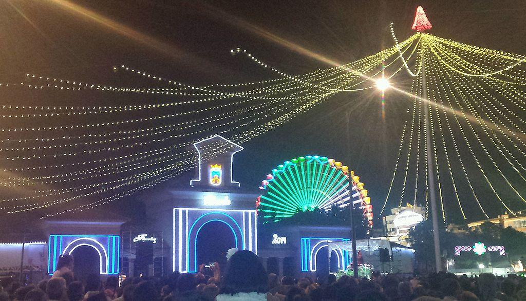 Feria de Albacete 2014. Puerta de Hierros del Recinto Ferial de Albacete 5.jpg