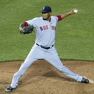 Fernando Abad - Abad pitching for the Boston Red Sox in 2016