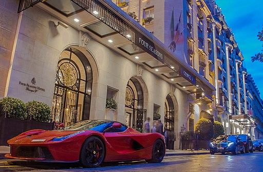 Ferrari, Hôtel George V, Paris August 2014