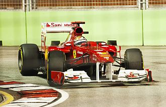 Ferrari 150° Italia - Fernando Alonso at the Singapore Grand Prix