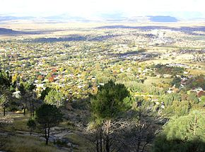 Ficksburg from Imperani Mountain