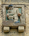 Figure on granary, Linton, West Yorkshire (Taken by Flickr user 17th June 2012).jpg
