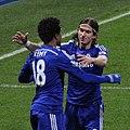 Filipe Luís Kasmirski, Loïc Rémy, Chelsea 3 Watford 0 FA Cup 3rd round.jpg