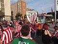 Final Copa del Rei 2015 - Afició del Bilbao.JPG