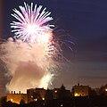 Fireworks at local Beer Fest in 2009 in Třebíč, Třebíč District.jpg