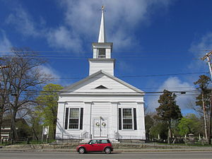 Marshfield (CDP), Massachusetts - First Congregational Church