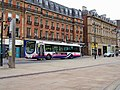 First South Yorkshire Volvo single deck bus in Pinstone Street - geograph.org.uk - 1254600.jpg