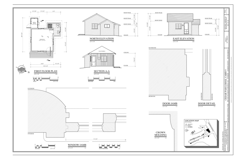 File first floor plan north elevation east elevation for Location of doors and windows