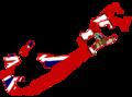 Flag map of Bermuda (1910).png
