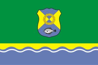 Zelenogradsk - Image: Flag of Zelenogradsk (Kaliningrad oblast)