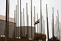 Flagpoles Baghdad 2006.jpg