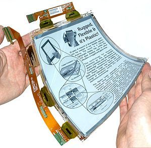 Plastic Logic - Plastic Logic Germany's flexible plastic display