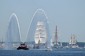 Operation Sail - Image: Flickr Official U.S. Navy Imagery Tall ships make their way down the Elizabeth River during Operation Sail 2012 Virginia