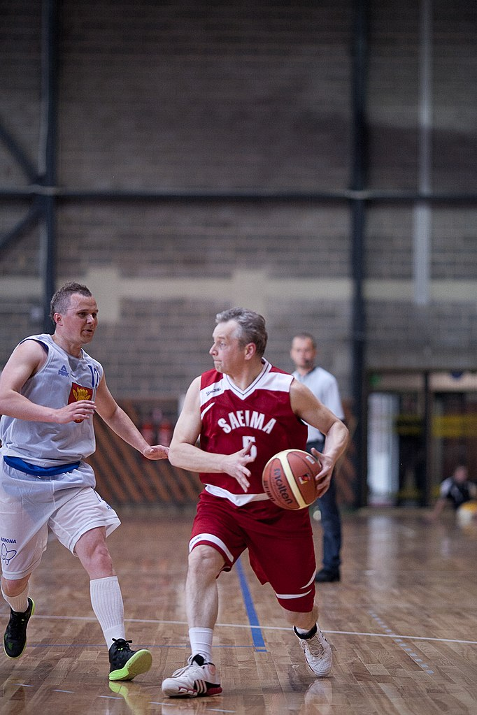 "File:Flickr - Saeima - Basketbola draudzības spēle ""Saeima ..."