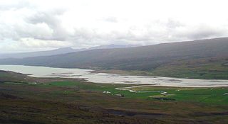 Fljótsdalur in East Iceland, a rather flat valley