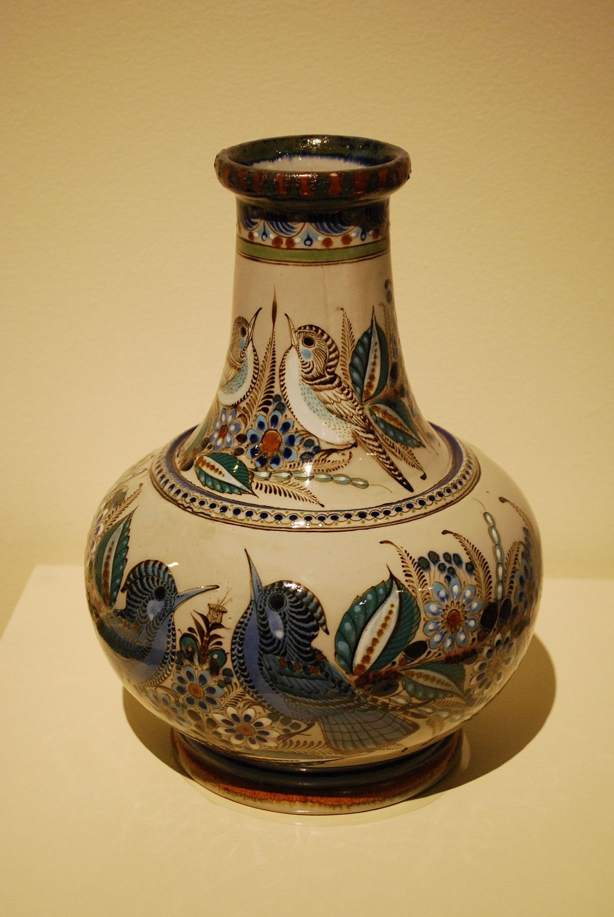 Florero objeto wikipedia la enciclopedia libre - Fotos de ceramica ...