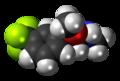 Fludorex 3D spacefill.png