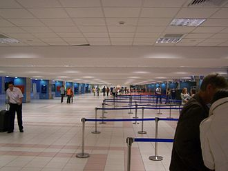 Rhodes International Airport - Check-in at Rhodes Airport