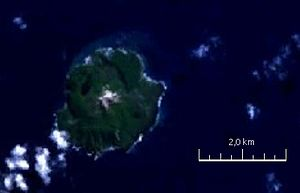 NASA-Satellitenbild von Fonualei