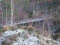 Footbridge across Corrieshalloch Gorge - geograph.org.uk - 618975.jpg