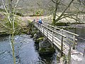 Footbridge over the River Rothay - geograph.org.uk - 1767283.jpg