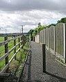 Footpath - Holywell Lane, Glass Houghton - geograph.org.uk - 906256.jpg