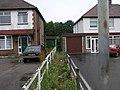 Footpath Between the Houses - geograph.org.uk - 197565.jpg