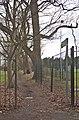 Footpath opposite Camp Hill Lodge.jpg