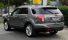 Ford Explorer 3.5 V6 AWD Limited (V) – Heckansicht, 10. September 2011, Düsseldorf.jpg