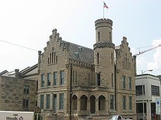 Old Vanderburgh County Jail - The Old Jail and Former Vanderburgh County Sheriff's Residence