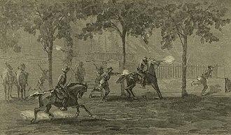 Second Battle of Memphis - General Washburne escapes