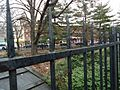 Fort Greene Brooklyn NY assorted photos near Fulton Street 11 park enclosed by fence.jpg