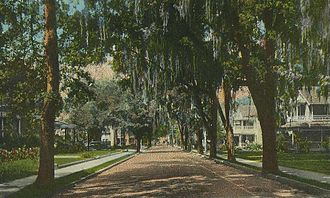 Ocala, Florida - Fort King Street in c. 1920