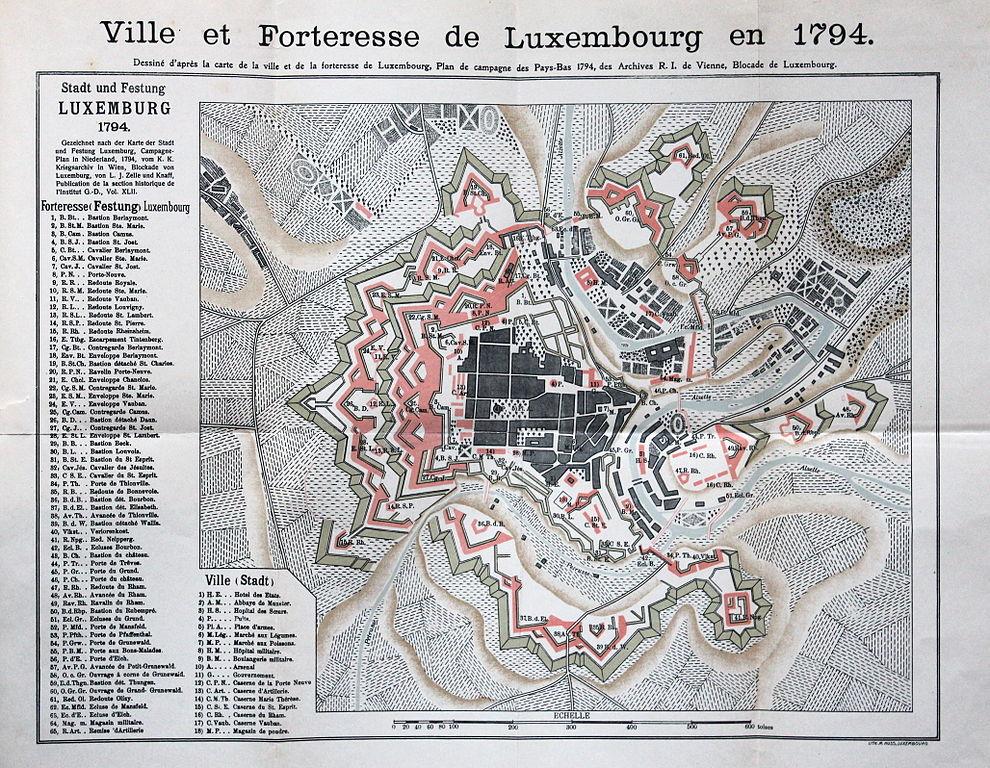 File:Forteresse de Luxembourg 1794 by A Lefort.jpg - Wikimedia Commons
