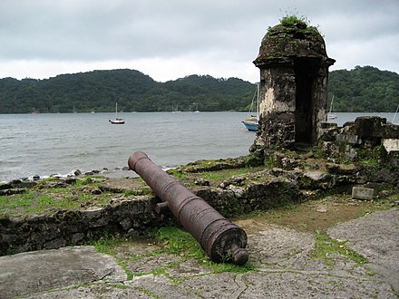 Fortifications on the Caribbean Side of Panama: Portobelo-San Lorenzo were declared World Heritage Site by UNESCO in 1980. Fortifications on the Caribbean Side of Panama Portobelo-San Lorenzo-108169.jpg