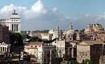 Forum Romanum in Rome, taken from the Palatine hill.jpg