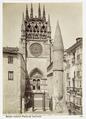Fotografi av Burgos. Catedral, puerta del Sarmental - Hallwylska museet - 105345.tif