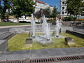Fountain (SW). - Jászai square, Budapest District V.JPG