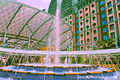 Fountain at Festive Hotel, Resorts World Sentosa, Singapore - 20140213.jpg