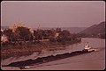 Four Coal Barges Are Pushed Along the Kanawha River at Charleston, West Virginia...04-1974 (3906443683).jpg